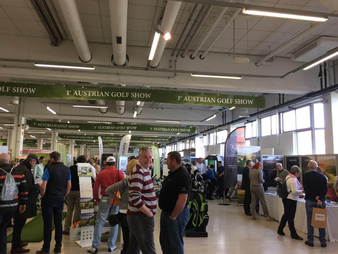 Golfliebling auf der Austrian Golf Show
